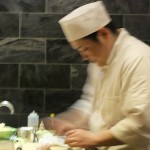 Sushi Chef at Work, Jewel Bako