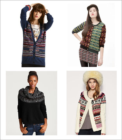 Fall 2010 Trend: Fair Isle | Gastro Chic