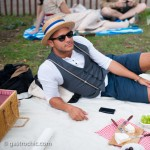 Boating Hat and Shorts, Jazz Age Lawn Party