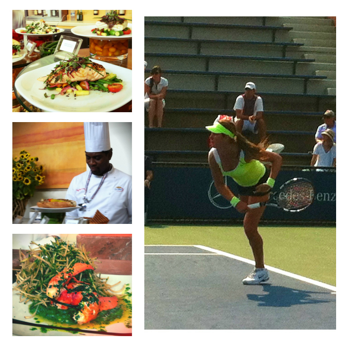 What to Eat at the 2012 US Open
