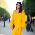 Yellow Hermes Dress, After the Show