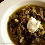 Slow Cooker Green Turkey Chili Recipe
