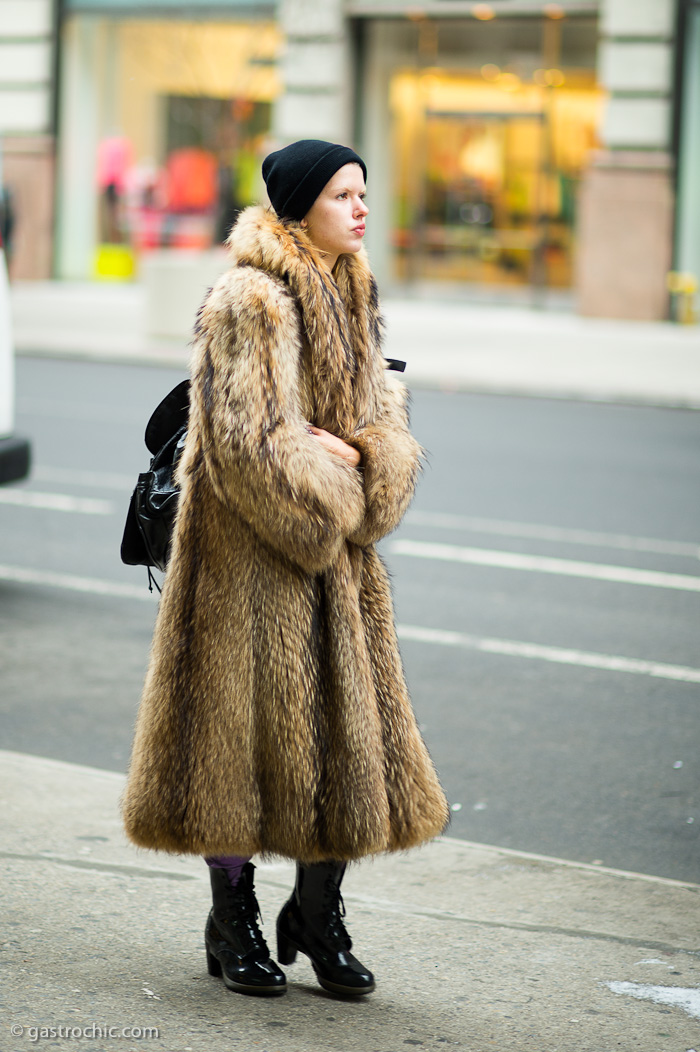 The Fur Coat - Coat Nj