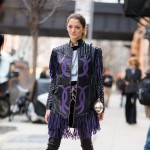 Sofia Sanchez in Rodarte at the Show