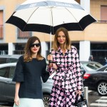 Two Rainy Day Looks, Outside Marni