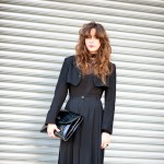 All Black Vintage Look, Outside Rodarte