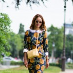 Print Dress, Outside Chanel Couture