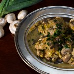 Chicken Fricassee with Mushrooms and Leeks Recipe