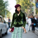 Green Tweed and Velvet, Outside Armani