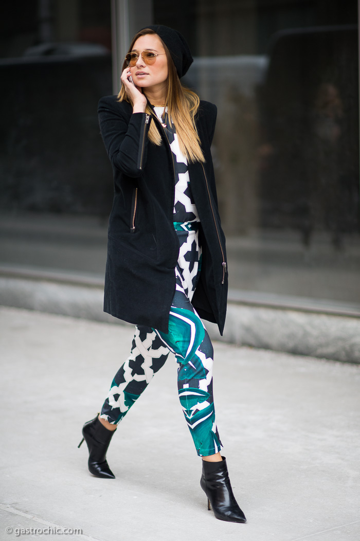 Printed Pants, Outside Hugo Boss