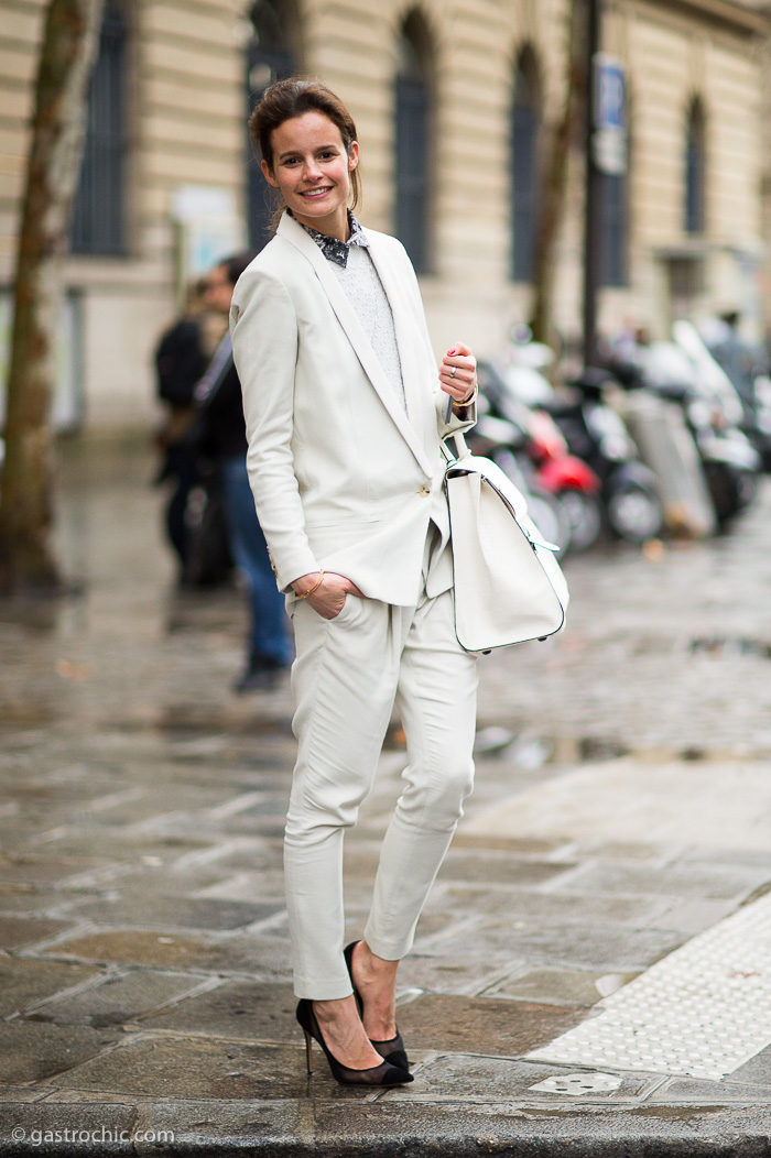 White Suit, After Balmain FW2014