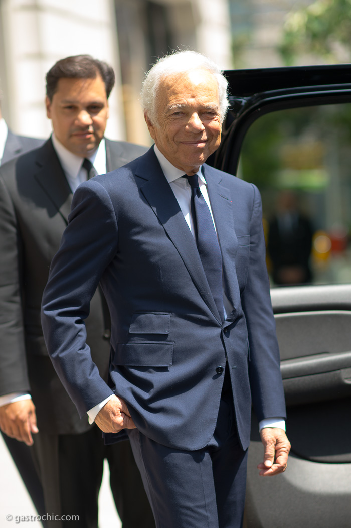 Ralph Lauren, Outside the 2015 Resort Show