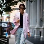 Leandra Medine at Theyskens' Theory
