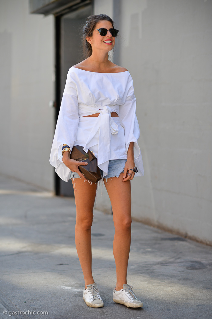 Leandra Medine at Creatures of the Wind SS2015