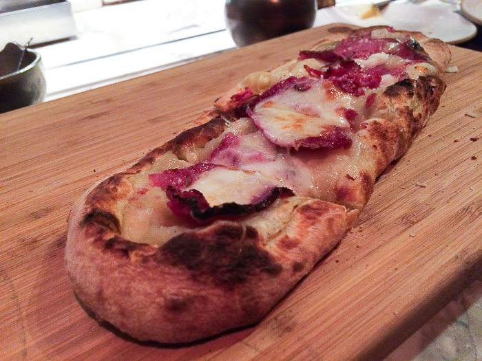 Pastrami Pizza, Chefs Club