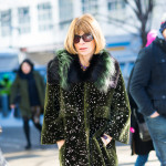 Anna Wintour at Hugo Boss FW2015