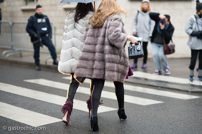 Fur Coats, Outside Dior Couture SS2015