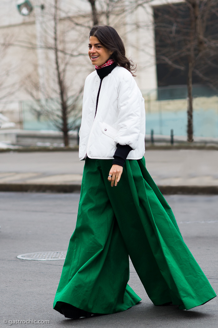 Leandra Medine at BCBG FW2015