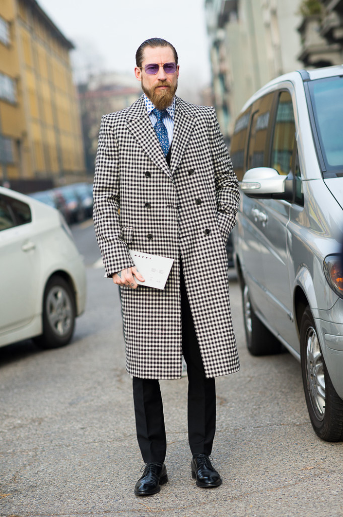 Justin O'Shea at Marni FW2015