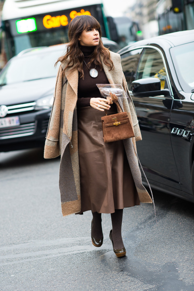 Miroslava Duma at Stella McCartney FW2015