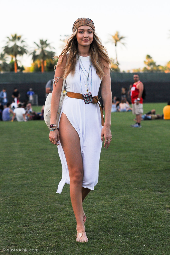 Gigi Hadid at Coachella 2015 Day 3
