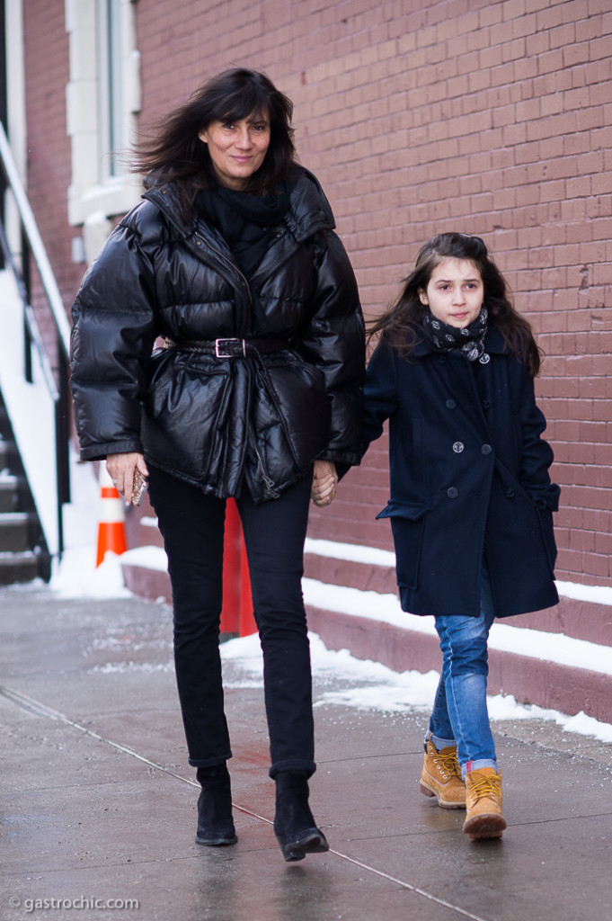Mother Daughter Duo: Emmanuelle Alt and Francoise at ...