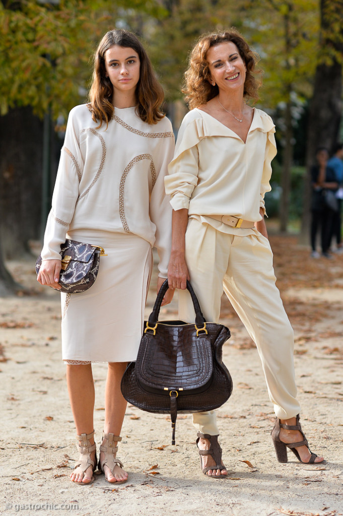 Mother and Daughter, Outside Chloe SS2015