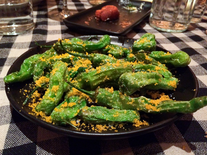 Blistered Shishito Peppers, Upland