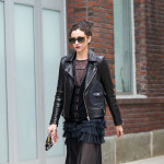 All Black Look, Outside Gucci Resort 2016