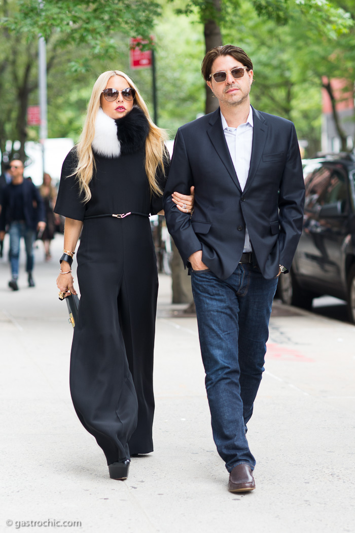 Rachel Zoe and Rodger Berman at Gucci Resort 2016