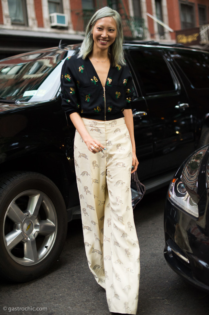 Soo Joo Park at Stella McCartney Resort 2016