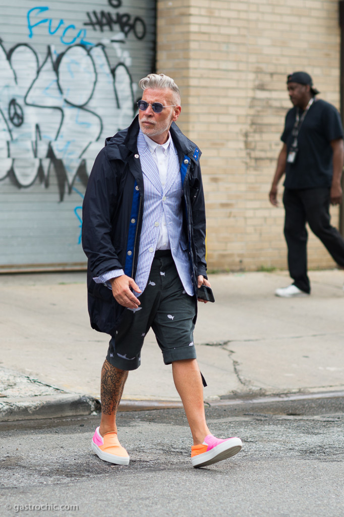 Nick Wooster at Tommy Hilfiger SS2016