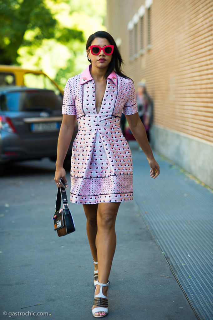 Hannah Bronfman at Fendi SS2016