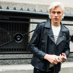 Lucky Blue Smith at Tommy Hilfiger FW2016