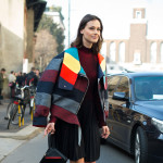 Colorful Stripes, Outside Blugirl FW2016