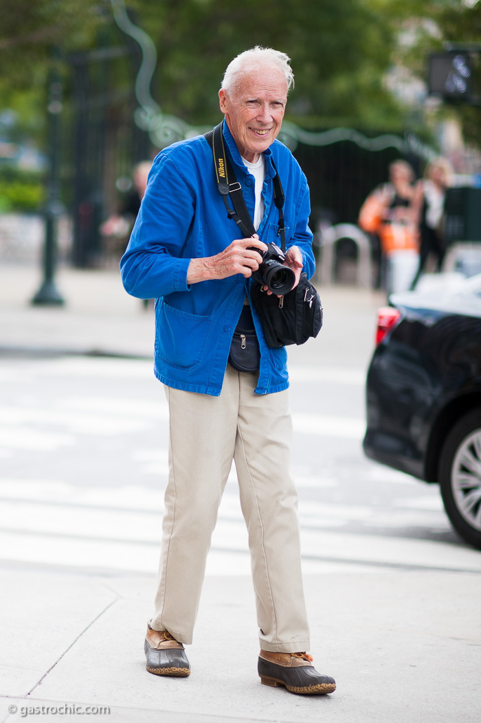 Bill Cunningham at Prabal Gurung