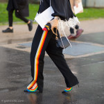 Rainbow Pants and Shoes, Outside Chloe FW2016