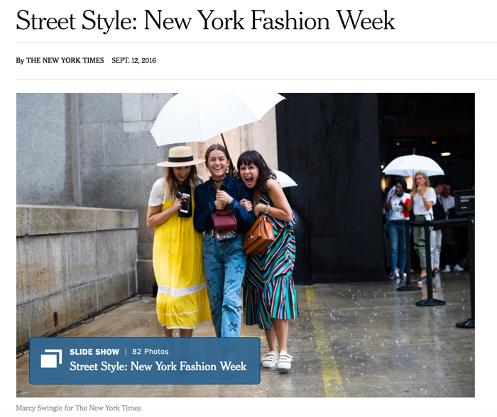 New York Times Street Style