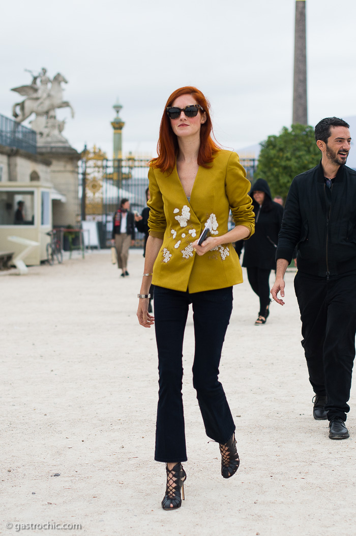 Taylor Tomasi Hill at Carven SS2017