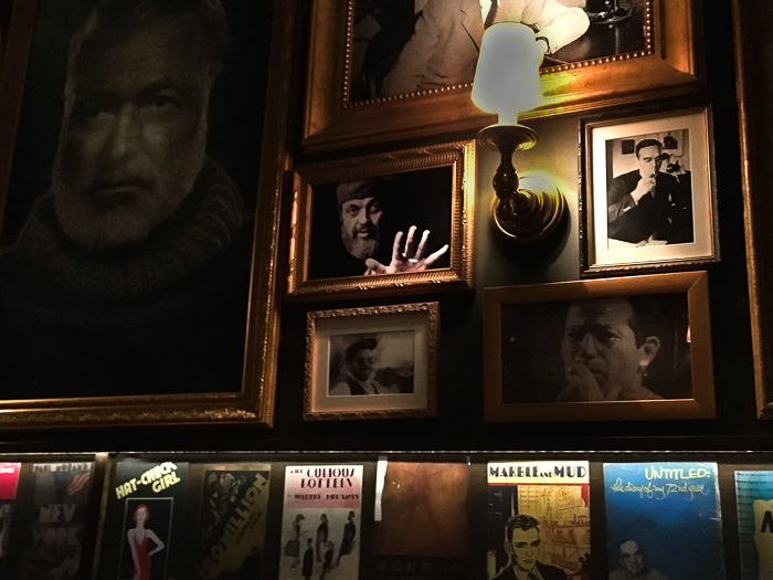 Writers on the Wall, Chumley's