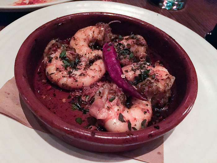 Oven Roasted Shrimp, diavolo oil, oregano, Gato