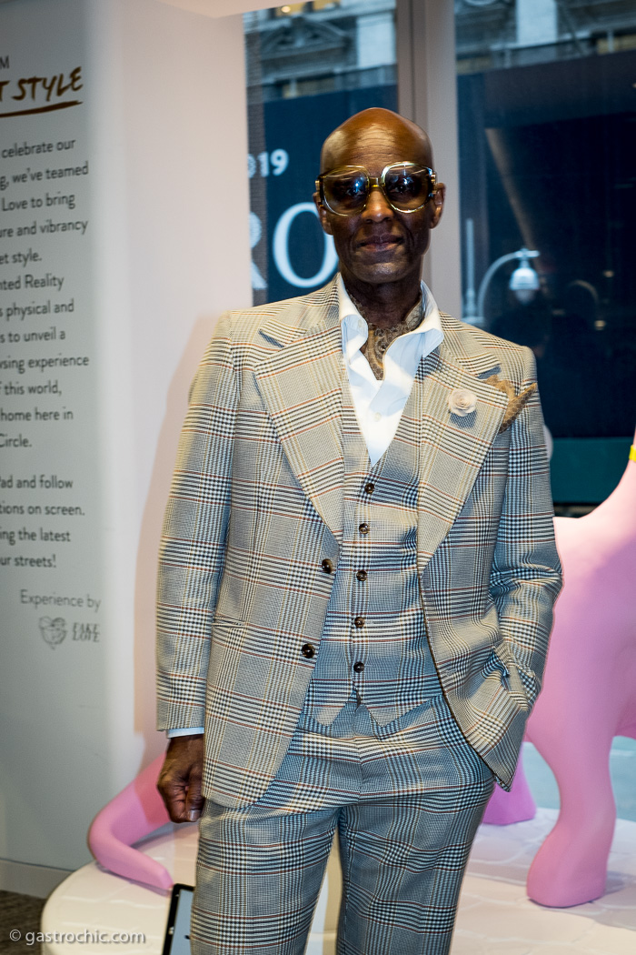 Well Suited Dapper Dan At The New York Times Street Style