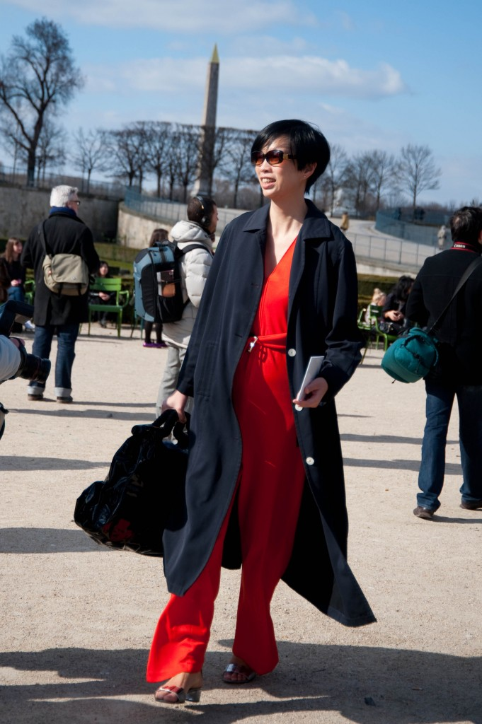 Red Jumper, Christian Dior Show