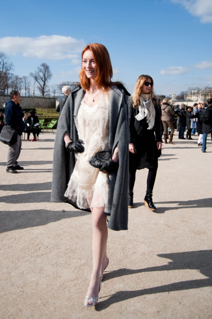 White Lace Dress, Christian Dior Show
