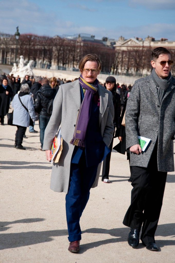 Hamish Bowles at Christian Dior