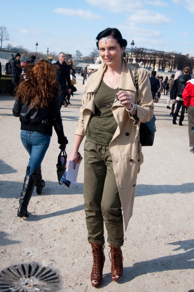 Khaki and Military Green, Christian Dior Show