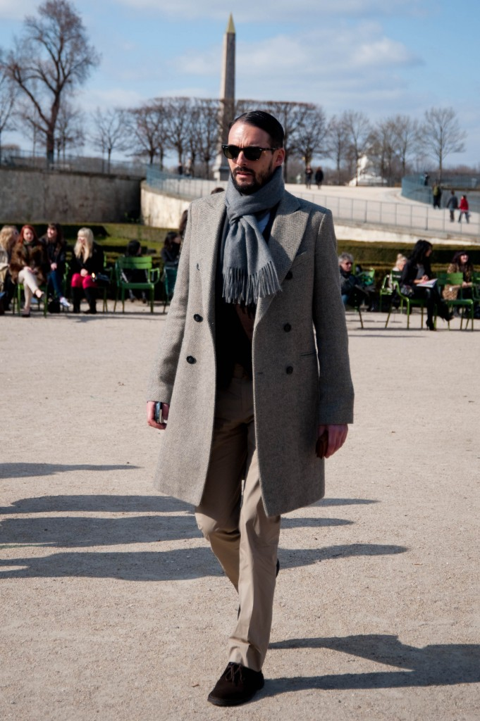 Double-Breasted Overcoat, Christian Dior Show