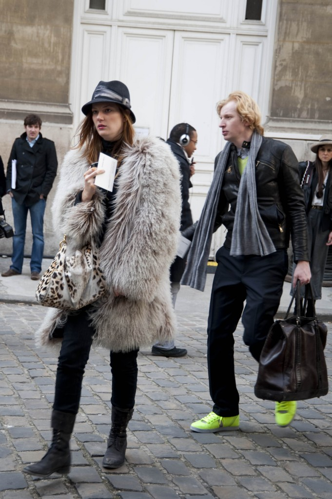 Fur and Fedora, Isabel Marant Show