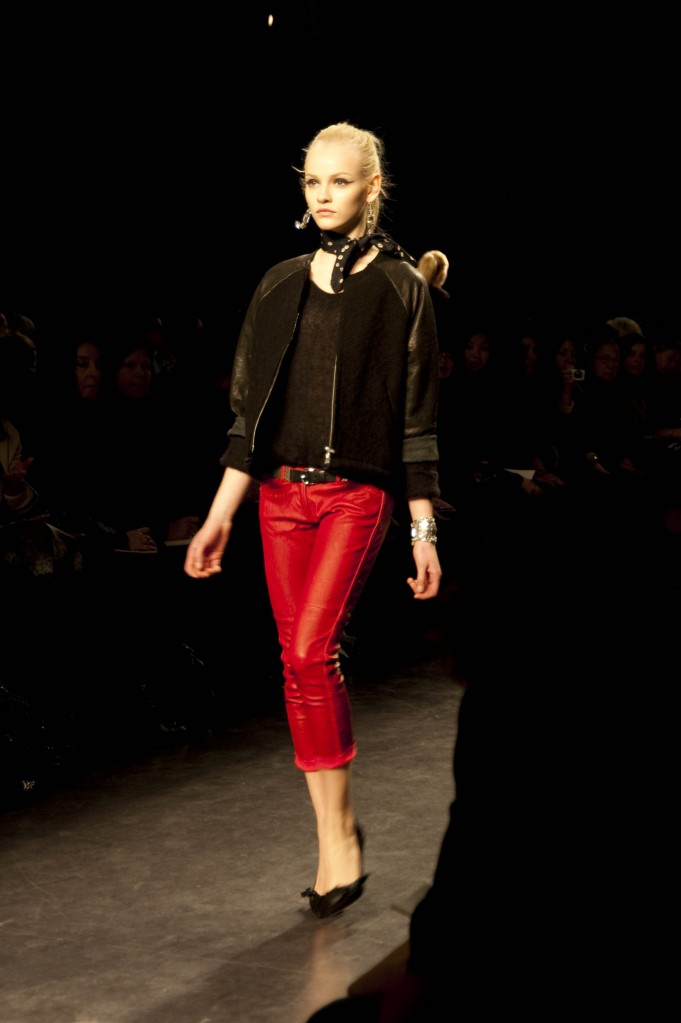 Cropped Red Jeans, Isabel Marant FW 2010