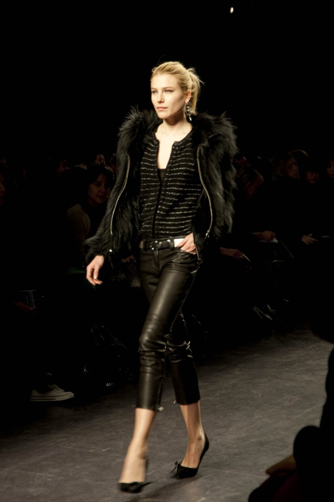 Black Fur Jacket, Isabel Marant FW 2010 Collection